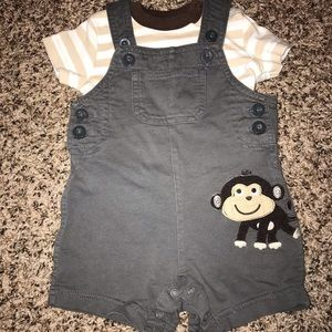 Carters Overall with Shirt